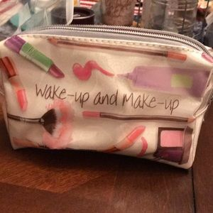 Never before used make-up bag